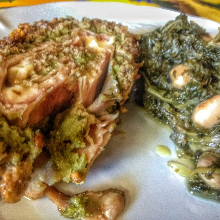 """IMG SRC=""""polpettone farcito La Cucina Pia www.lacucinapia.com.jpg"""" WIDTH=""""300″ HEIGHT=""""169″ ALT=""""Polpettone farcito con pesto di fagiolini"""""""