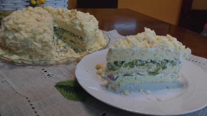 mimosa salata tagliata