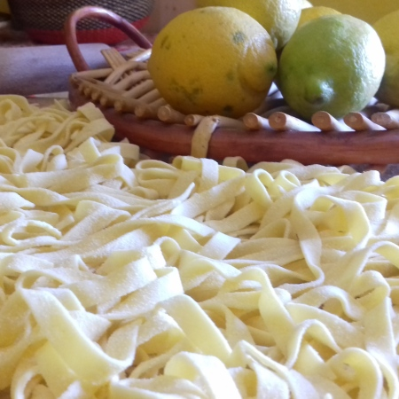 Fettuccine al limone